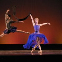 2008-04-18 Eugene, Oregon USA - The Eugene Ballet Company runs rehearsal for the Balanchine, May Dances and Silk and Steel show playing the 19th and 20th of April at the Hult Center for the Performing Arts in Eugene, Oregon. Photo Credit: Ari Denison