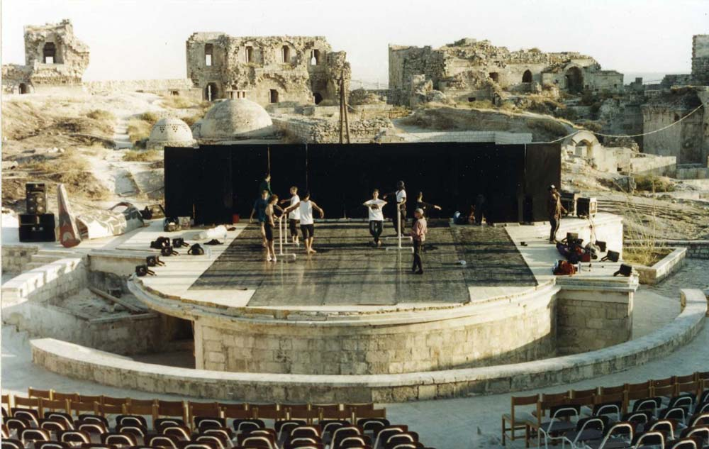 Citadel-of-Aleppo-amphitheater
